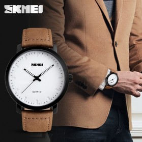 SKMEI Jam Tangan Analog Pria - 1196CL - Brown - 3