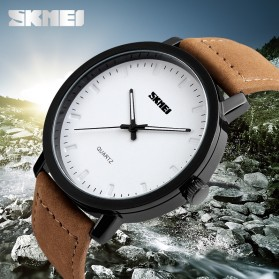 SKMEI Jam Tangan Analog Pria - 1196CL - Brown - 4