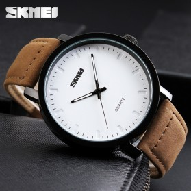 SKMEI Jam Tangan Analog Pria - 1196CL - Brown - 7