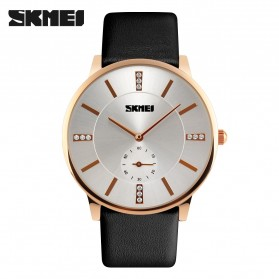 SKMEI Jam Tangan Analog Pria - 1168CL - Black Gold