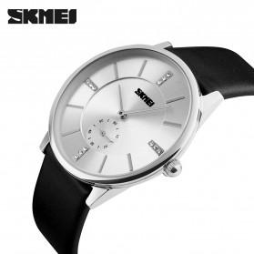 SKMEI Jam Tangan Analog Pria - 1168CL - Silver Black - 2