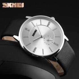 SKMEI Jam Tangan Analog Pria - 1168CL - Silver Black - 3