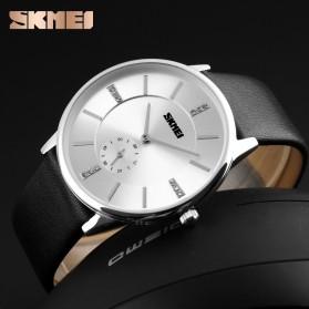 SKMEI Jam Tangan Analog Pria - 1168CL - Silver Black - 4