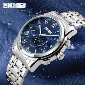 SKMEI Jam Tangan Analog Pria - 9121CS - Blue - 4