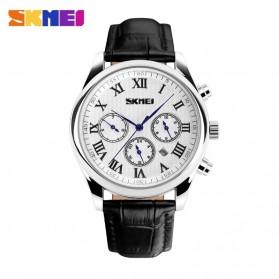 SKMEI Jam Tangan Analog Pria - 9078 - White/Black
