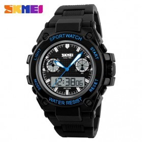 SKMEI Jam Tangan Analog Digital Pria - AD1217 - Black/Blue