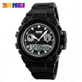 SKMEI Jam Tangan Analog Digital Pria - AD1217 - Black