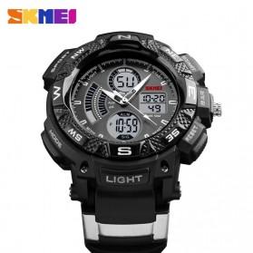 SKMEI Jam Tangan Digital Analog Pria - AD1211 - Black - 5