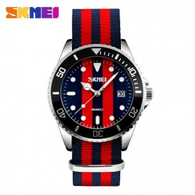 SKMEI Jam Tangan Analog Pria - 9133C - Black/Red