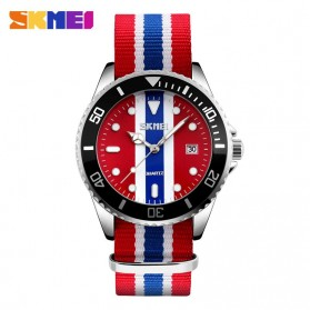 SKMEI Jam Tangan Analog Pria - 9133C - Blue/Red