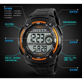 SKMEI Jam Tangan Digital Pria - DG1203 - Black - 9