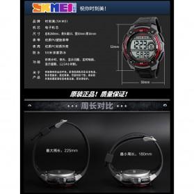 SKMEI Jam Tangan Digital Pria - DG1203 - Black - 10