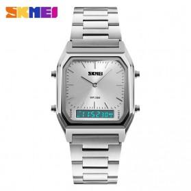 SKMEI Jam Tangan Premium Digital Analog Pria - DG1220 - Silver - 2