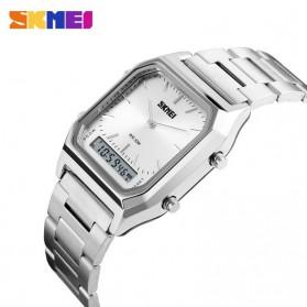 SKMEI Jam Tangan Premium Digital Analog Pria - DG1220 - Silver - 3
