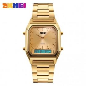 SKMEI Jam Tangan Premium Digital Analog Pria - DG1220 - Golden - 2