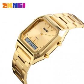 SKMEI Jam Tangan Premium Digital Analog Pria - DG1220 - Golden - 3