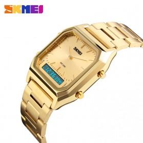 SKMEI Jam Tangan Premium Digital Analog Pria - DG1220 - Golden - 4