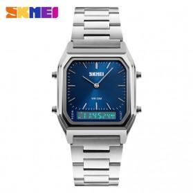 SKMEI Jam Tangan Premium Digital Analog Pria - DG1220 - Silver Blue - 2