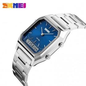 SKMEI Jam Tangan Premium Digital Analog Pria - DG1220 - Silver Blue - 3