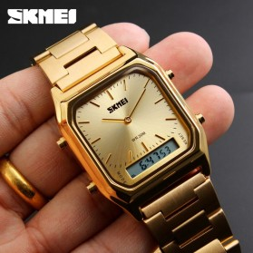 SKMEI Jam Tangan Premium Digital Analog Pria - DG1220 - Silver Blue - 6