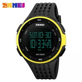 SKMEI Young Sport Watch Water Resistant 50m - DG1068 - Black/Yellow