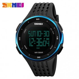 SKMEI Young Sport Watch Water Resistant 50m - DG1068 - Black/Blue