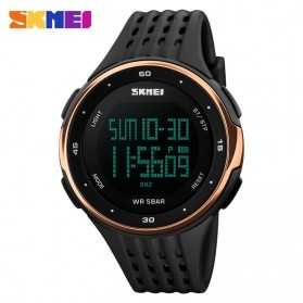 SKMEI Young Sport Watch Water Resistant 50m - DG1068 - Rose Gold