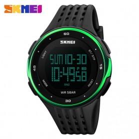 SKMEI Young Sport Watch Water Resistant 50m - DG1068 - Black/Green