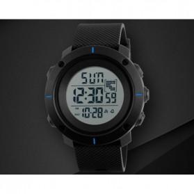 SKMEI Jam Tangan Digital Pria - DG1213 - Black/Blue - 2