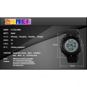 SKMEI Jam Tangan Digital Pria - DG1213 - Black/Blue - 3