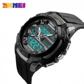SKMEI Jam Tangan Analog Digital Pria - AD1202 - Titanium Gray - 3