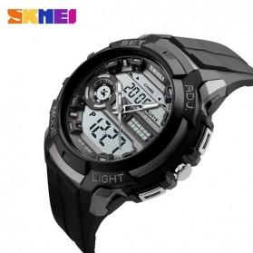 SKMEI Jam Tangan Analog Digital Pria - AD1202 - Titanium Gray - 4
