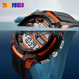 SKMEI Jam Tangan Analog Digital Pria - AD1202 - Titanium Gray - 8