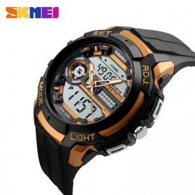 SKMEI Jam Tangan Analog Digital Pria - AD1202 - Black Gold - 4