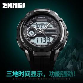 SKMEI Jam Tangan Analog Digital Pria - AD1202 - Black Gold - 6