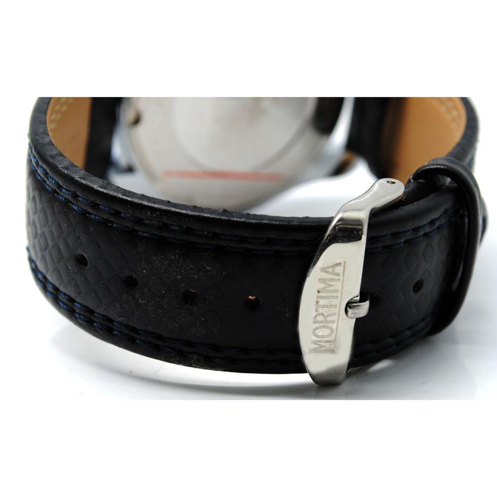 Mortima Casual Men Leather Strap Watch Water Resistant 30m 9106cl Jam Tangan Pria Skmei 9106 Original Black Red