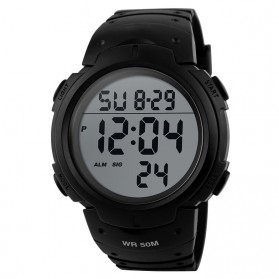 Mortima Pioneer Sport Watch Water Resistant 50m - DG1068 - Black