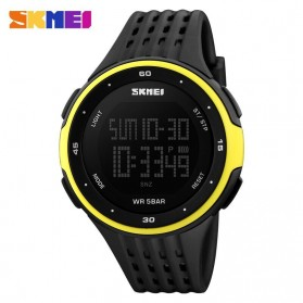 SKMEI Jam Tangan Digital Pria - DG1219 - Black/Yellow
