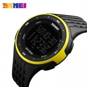 SKMEI Jam Tangan Digital Pria - DG1219 - Black/Yellow - 3