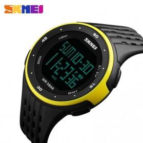 SKMEI Jam Tangan Digital Pria - DG1219 - Black/Yellow - 4
