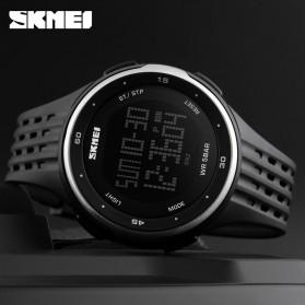 SKMEI Jam Tangan Digital Pria - DG1219 - Black/Silver - 6