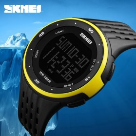 SKMEI Jam Tangan Digital Pria - DG1219 - Black/Green - 8