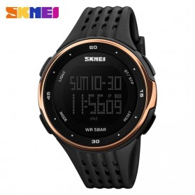 SKMEI Jam Tangan Digital Pria - DG1219 - Black/Rose