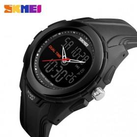 SKMEI Jam Tangan Digital Analog Pria - AD1157 - Black/Black - 3