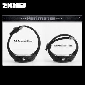 SKMEI Jam Tangan Digital Analog Pria - AD1157 - Silver Black - 4