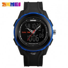 SKMEI Jam Tangan Digital Analog Pria - AD1157 - Blue