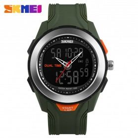 SKMEI Jam Tangan Digital Analog Pria - AD1157 - Green
