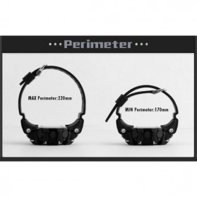 SKMEI Jam Tangan Olahraga Smartwatch Bluetooth - DG1227 BL - Black Gold - 7