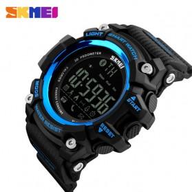 SKMEI Jam Tangan Olahraga Smartwatch Bluetooth - DG1227 BL - Black Blue - 2