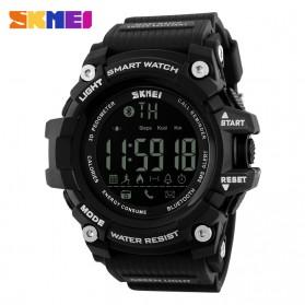 SKMEI Jam Tangan Olahraga Smartwatch Bluetooth - DG1227 BL - Black - 1